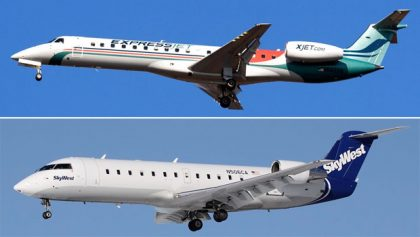kyWest: SkyWest Airlines' and ExpressJet Airlines' combined traffic down in June 2017