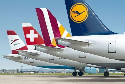 Lufthansa Group: 60 million passengers in first half of 2017