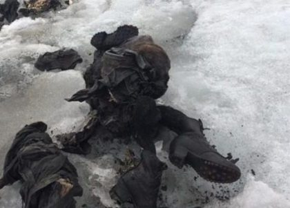 As climate change forces glacial retreat, mummified corpses popping up on Europe's mountainsides