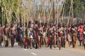Swaziland prepares for the 2017 Reed Dance