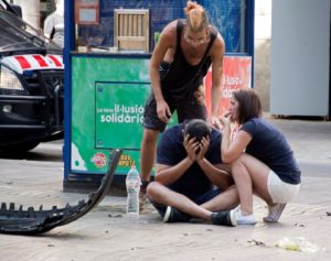 Horrific aftermath: Islamic State claims responsibility for Barcelona attack that killed 13 and injured 100