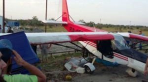 Light plane attempts takeoff from rural road, slams into van in Chechnya