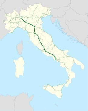 New Italian motorway links Italy's tourist destinations from top to boot toe