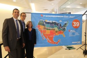 Frontier Airlines announces more nonstop cities for Silicon Valley