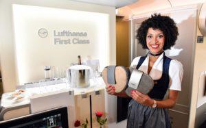 The Lufthansa Trachtencrew takes off