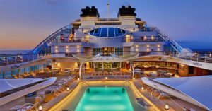 Seabourn celebrates major milestone with launch ceremony for Seabourn Ovation