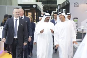 President of Dubai Civil Aviation Authority opens 2017 Hotel Show Dubai and The Leisure Show Dubai
