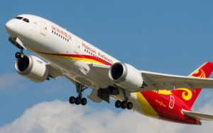 Hainan Airlines inaugurates direct air service from Shanghai to Tel Aviv