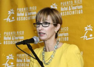 Clarisa Jiménez, President and CEO of the Puerto Rico Hotel and Tourism Association told eTN: