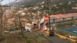 US Virgin Islands St. Thomas hotels severely damaged: Tourists under curfew
