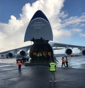 Air Partner's freight team charters flights across the Caribbean to support hurricane relief effort