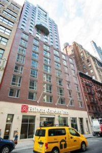 Manhattan's newest Hilton Garden Inn opens near Times Square