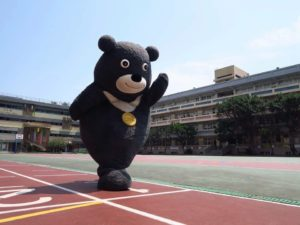 Taiwan's new favorite mascot bear – Bravo!