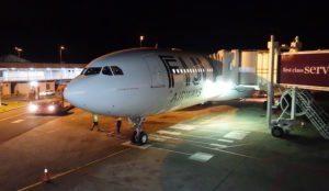 Resort check in on Fiji Airways