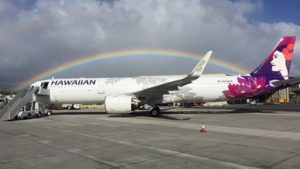 Hawaiian Airlines celebrates delivery of first Airbus A321neo