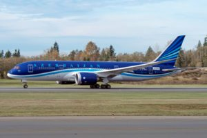Boeing and Azerbaijan Airlines announce deal for 787 Dreamliners, Freighters