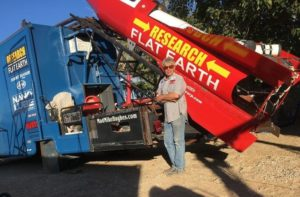 US federal agency blocks launch of Flat-Earther's homemade rocket