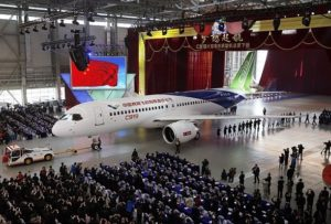 "China joins the ""big jet club"""