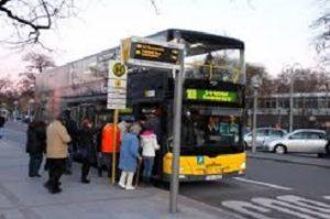 Moroccan man drives rental car into Berlin bus stop crowd