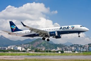 Azul reports October traffic