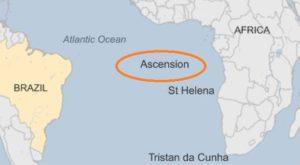 Earthquake strikes Ascension Island