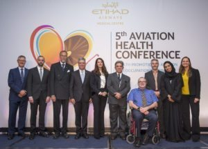 Aviation Health Conference hosted by Etihad Airways