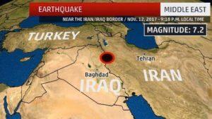Iran – Iraq Earthquake death rate 400 and climbing
