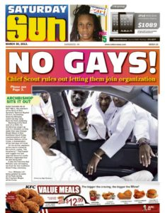 Barbados life sentence for Homosexual Acts:  American Society of Travel Writers  Barbados convention concerns