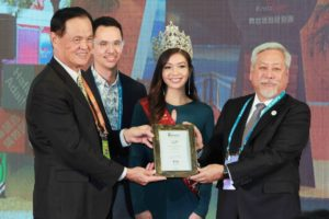 Guam receives the new ITF Theme Award,