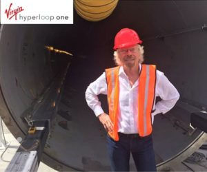 Virgin Hyperloop One names Richard Branson Chairman
