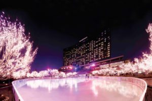 Grand Hyatt Seoul unveils its magnificent ice rink once again