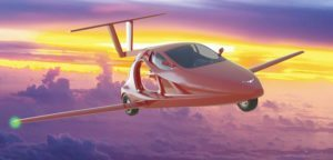 World's first flying sports car prepares for take off in 2018