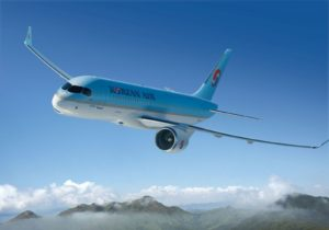 Korean Air receives first Bombardier C Series with Pratt & Whitney GTF engines