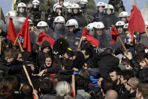 Grinding halt: Mass protests paralyze Greek capital's transport system