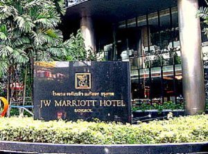 Guest at Marriott's Hotel Bangkok trips and falls: Is Marriott International liable?