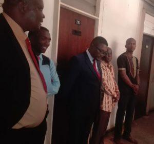 Walter Mzembi in court