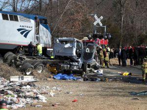 Deadly Amtrak train crash in Virginia