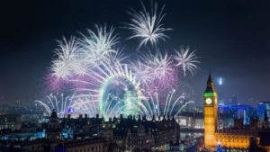 London lights up the New Year with an homage to women