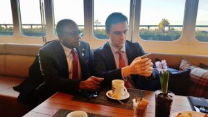 Jamaica Tourism Minister on investement trail in Madrid