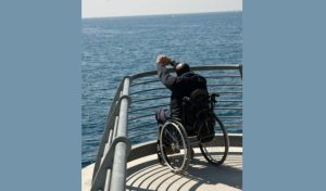 Cruise passenger in wheelchair slams into another passenger: Is cruise line liable?