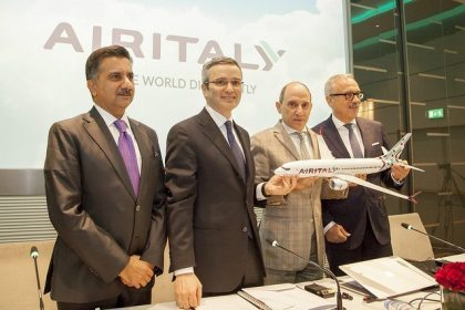 Air Italy: Meridiana changes identity, launches new look