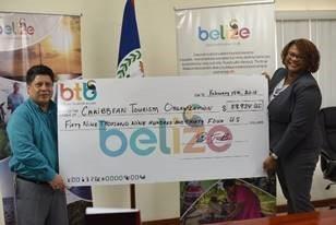Belize Tourism Board raises $59,934 for CTO Relief Fund