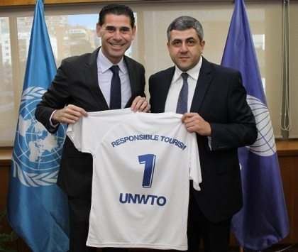Fernando Hierro named new UNWTO Ambassador for Responsible Tourism