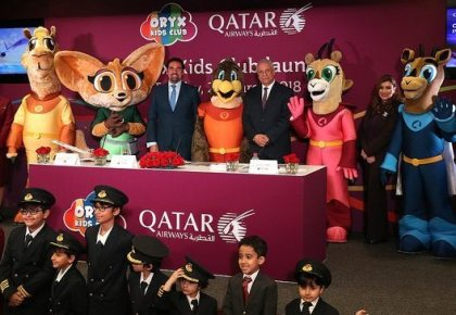 Qatar Airways' new Oryx Kids Club puts more fun into flying for children