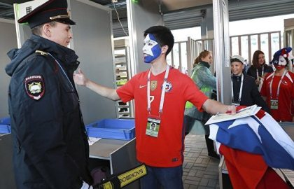 Russia: All 2018 FIFA World Cup volunteers will be vetted for terrorism links