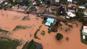 Tourists stranded on Kauai in Hawaii due to severe flooding
