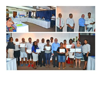 Another group of Seychelles tourism commission agents enhance customer service skills