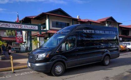 Hawaii Tourism funding shuttle service for Kauai north shore