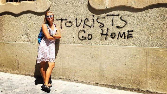 Tourists go home!  Latest trends…