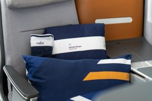 Lufthansa increases sleeping comfort for airline passengers in Business Class